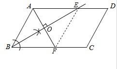 如图,在平行四边形ABCD中,AD>AB.